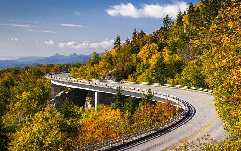 700km magnifici tra Virginia a North Carolina, alza il volume e divertiti alla guida!