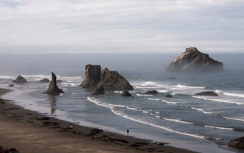 Cannon Beach è uno splendido pezzo di Oregon, non solo perché hanno girato i Goonies