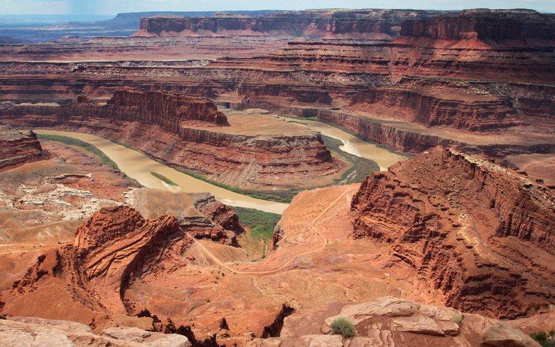 definirlo punto panoramico è quasi riduttivo, il Dead Horse Point è uno spettacolo unico