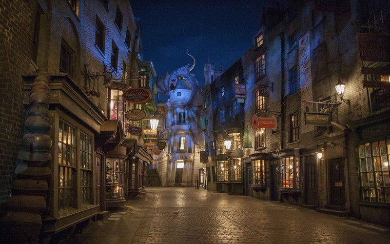 il suo magico mondor all'interno degli Universal Studios di Orlando