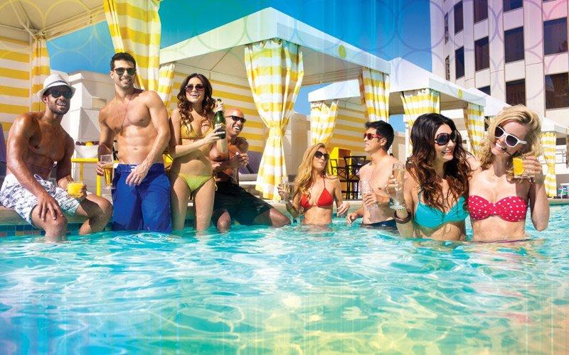 vai oltre i Casinò, goditi Vegas a bordo piscina con i Dj migliori al mondo!