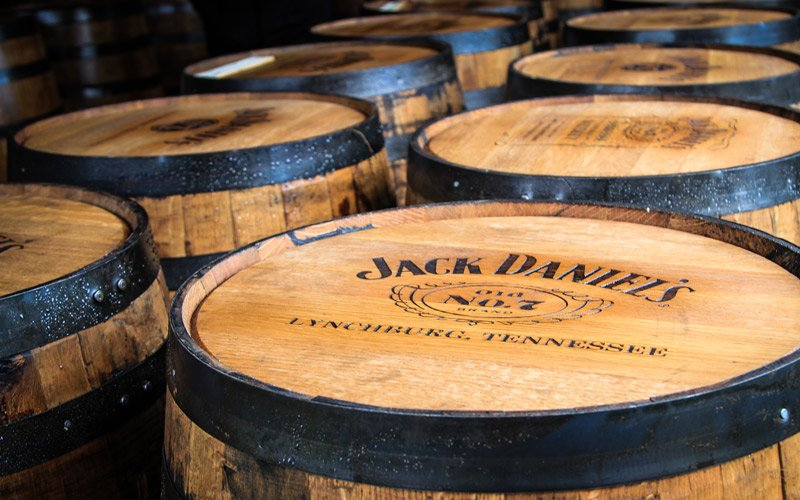 we take you to the only Jack Daniel's factory, where the legend of the America's most famous whisky was born