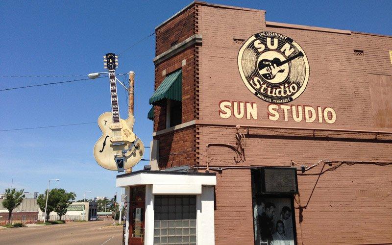 qui è nato il Rock'n Roll signori, benvenuti a Memphis!