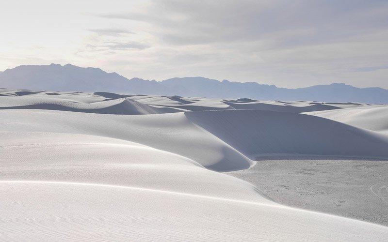 a White Sands rimarrai abbagliato dalle meravigliose dune di sabbia bianca