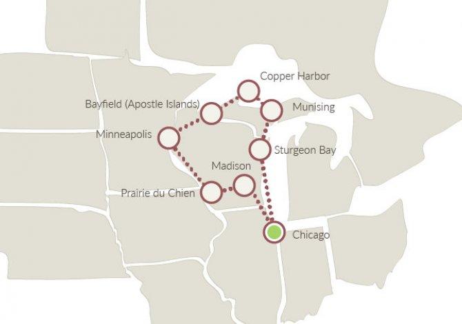 America Occidentale Cartina.Tour In Auto Negli Stati Uniti Xplore America